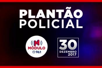 Plantão Policial Módulo FM 30/12/2017