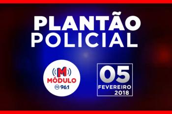 Plantão Policial Módulo FM 05/02/2018