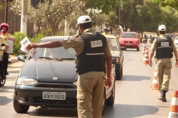 PM divulga balanço de blitzes de trânsito em Patrocínio