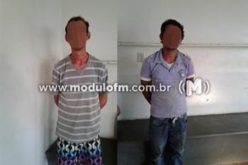 Traficante e usuário de droga são presos no bairro São Judas