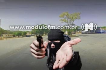 Bandidos armados aterrorizam a comunidade de Salitre de Minas roubando posto de combustível