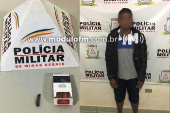 Homem é preso por tráfico de drogas, após fornecer drogas para menores em Serra do Salitre