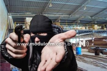 Madeireira é assaltada em Patrocínio