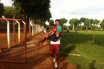 Bruno Moreno sofre lesão em treino do CAP