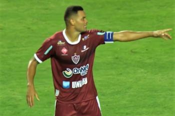 Diego Borges tem lesão constada pelo departamento médico do CAP  e está fora do confronto contra o Atlético Mineiro
