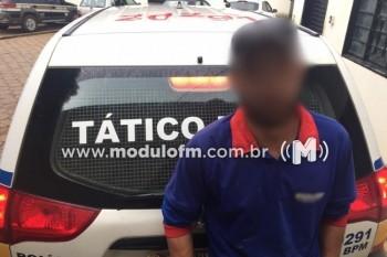Foragido da Justiça é preso em Patrocínio