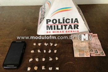 Zulu é apreendido por suspeita de tráfico de drogas no bairro Santo Antônio