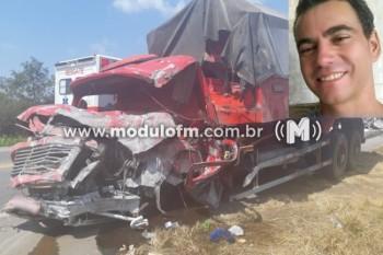 Caminhoneiro patrocinense morre em grave acidente na BR-262 em...