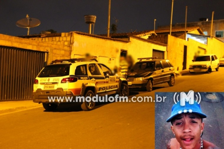 Jovem é morto com vários tiros no bairro Manuel Nunes