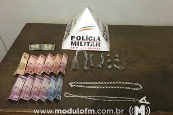 Polícia Militar prende traficante no bairro Serra Negra
