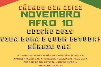 CUFA Patrocínio promove atividades alusivas ao Dia da Consciência...