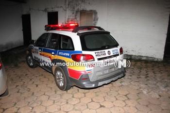 Suspeitos de roubos em fazendas na região de Salitre...