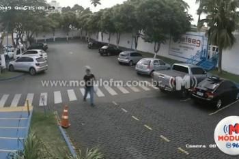 Veja o vídeo: Bicicleta é furtada no estacionamento do...