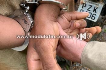 Foragido da Justiça é preso pela Polícia Militar Rodoviária...