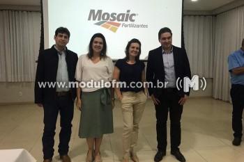 Mozaic Fertilizantes reúne imprensa e apresenta trabalhos da empresa...