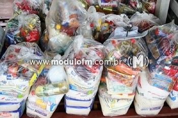 Campanha da Expocaccer arrecada nove toneladas de alimentos