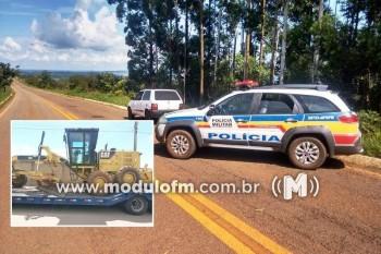 PM de Serra do Salitre recupera equipamentos agrícolas roubados...