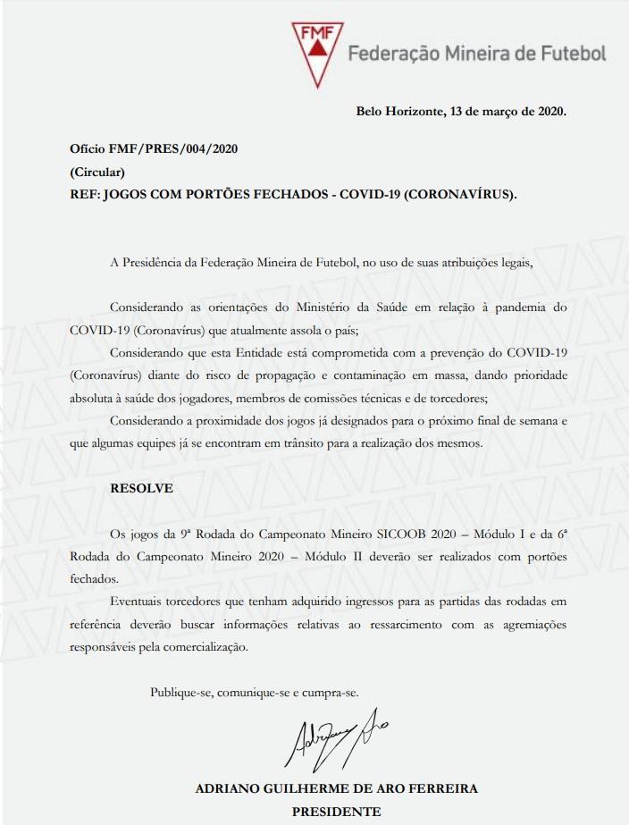 13-03-2019 Nota da fmf