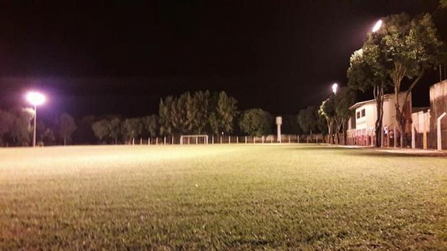 Secretaria de Esporte concluiu iluminação do Estádio Daniel Caldeira