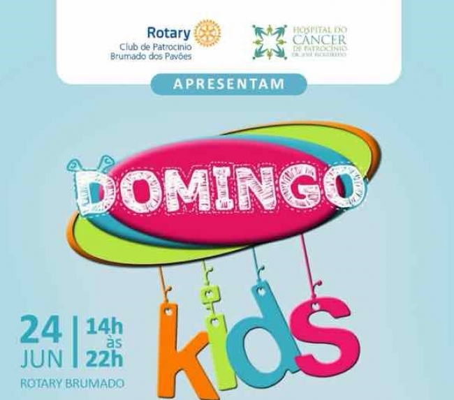 Domingo Kids: evento em prol do Hospital do Câncer de Patrocínio será realizado amanhã