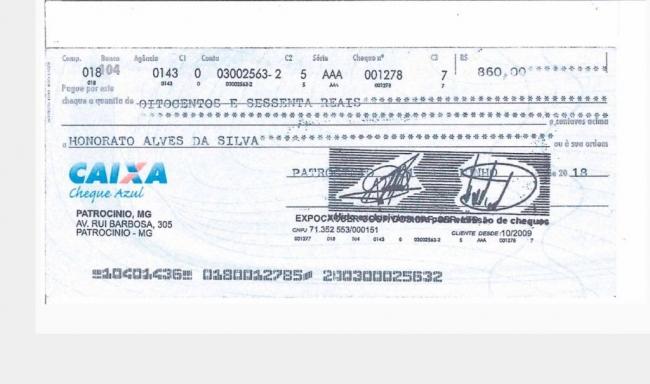 Expocaccer esclarece caso da emissão de cheques clonados