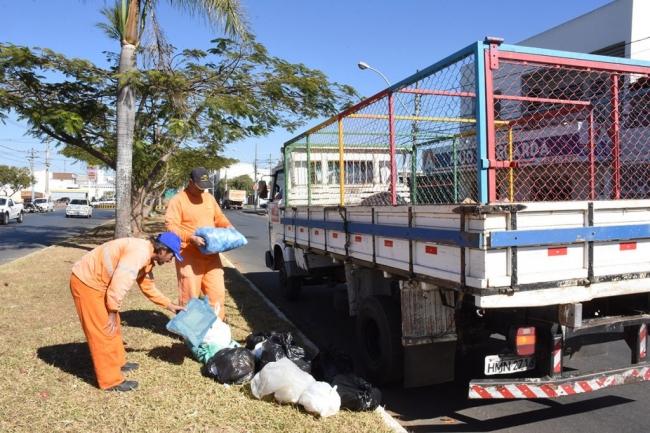 Coleta seletiva de lixo começa a ser realizada em Patrocínio