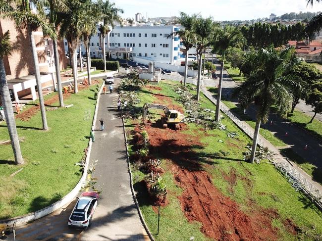 Obras do novo Pronto Socorro de Patrocínio aguardam liberação do governo estadual para que possam ser retomadas