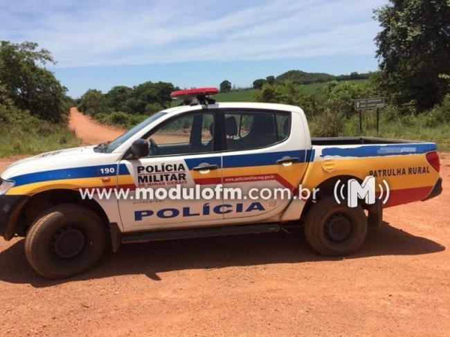 Três criminosos invadem fazenda na região de Serra do Salitre e roubam diversos bens