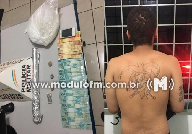 Cruzeiro da Fortaleza: Dois homens são presos por tráfico de drogas