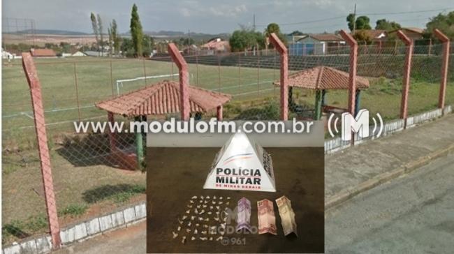Homem é preso traficando drogas no Campo do Peuca