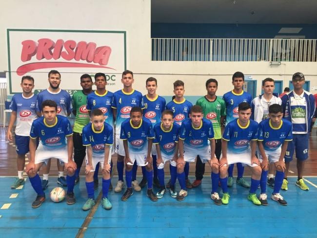Equipe de futsal do sub-15 do Catiguá se classifica para a final do Campeonato Mineiro