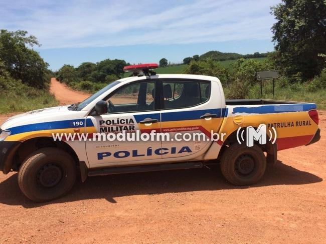 PM recupera tratores furtados em Cruzeiro da Fortaleza