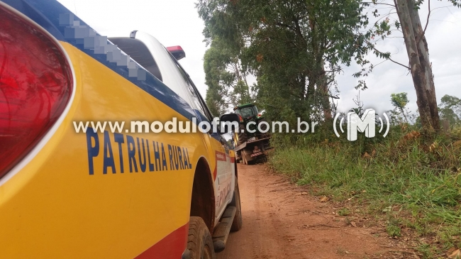 Produtor rural tem quatro tratores furtados em Cruzeiro da...