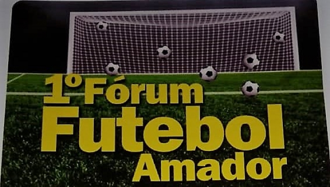 1º Fórum do Futebol Amador de Patrocínio será realizado nesta terça-feira