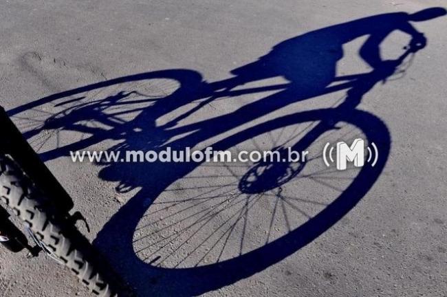 Assaltante em bicicleta ataca pedestre no bairro Nossa Senhora de Fátima