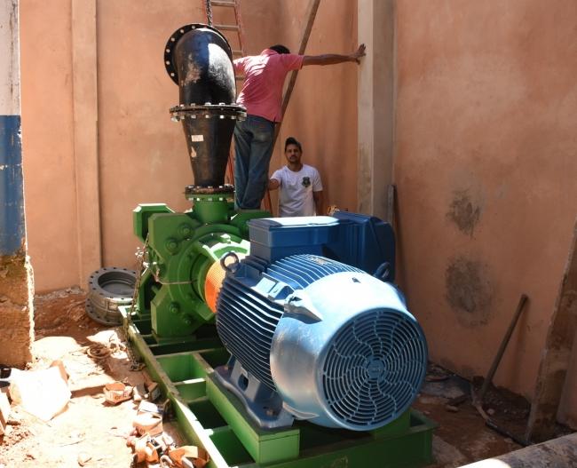 Nova adutora do DAEPA promete ser a solução dos problemas de abastecimento de água em Patrocínio