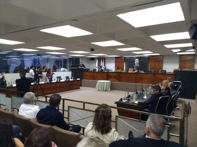 Nova mesa diretora da Câmara Municipal de Patrocínio é empossada para o biênio 2019/2020