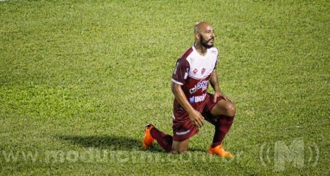 Atacante Felipe Alves é vetado para jogo contra o Vila Nova em Nova Lima