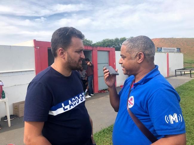 Diretor de futebol do CAP Diogo Cunha desmente especulação sobre demissão do goleiro Júlio Cesar