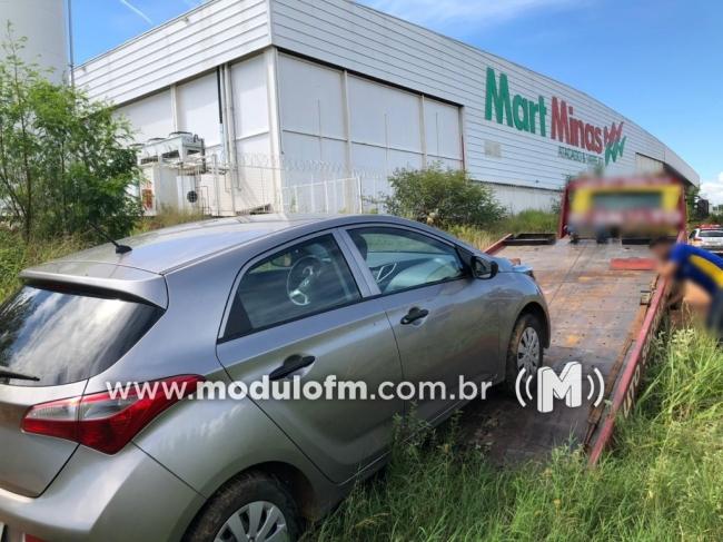 Em menos de 24 horas após assalto, PM recupera veículo HB20 roubado
