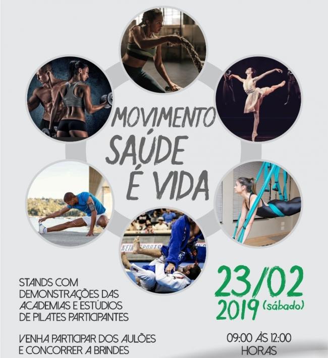 """Evento da ACIP/CDL """"Movimento Saúde É Vida"""" será realizado no último sábado de fevereiro"""