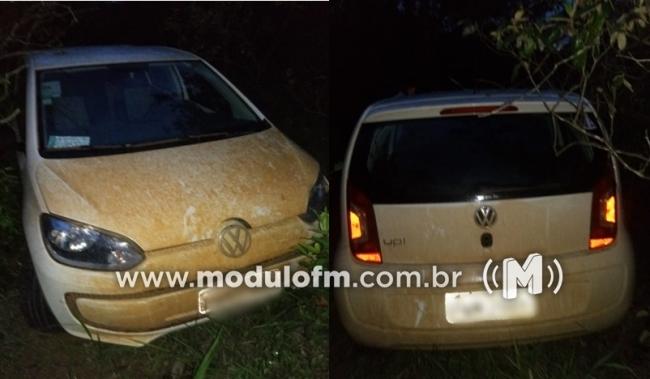 Investigadores da Polícia Civil de Patrocínio recuperam veículo tomado de assalto