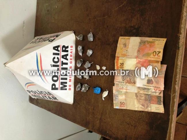 Traficante é preso no bairro São Benedito