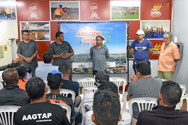 Campeonato Amador 2019 da 1ª Divisão de Patrocínio terá...
