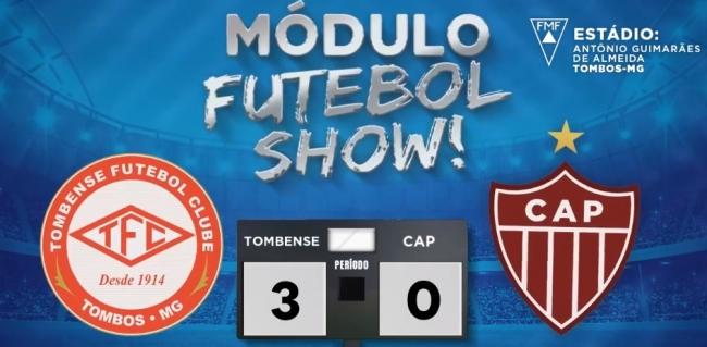 CAP é goleado pelo Tombense e encara o Cruzeiro nas quarta-de-final do Campeonato Mineiro 2019
