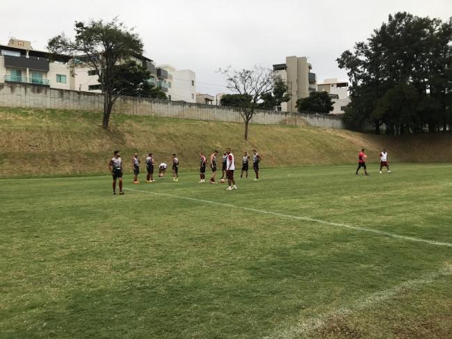 CAP realizou treino na tarde desta sexta-feira em Contagem