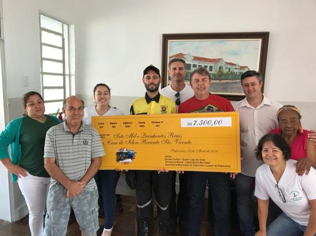 Casa do Idoso Recanto São Vicente recebe doação dos organizadores do 1º Trilha Off-Road de Patrocínio