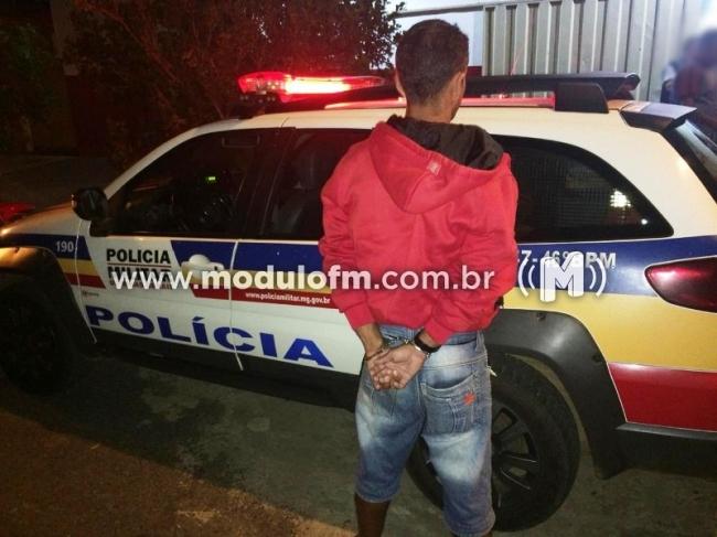 PM prende foragido da Justiça de São Paulo