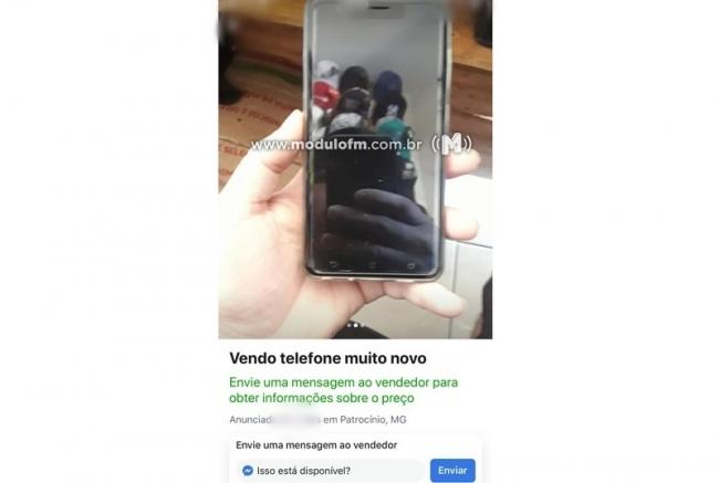 Receptador que vendia celulares roubados pela internet é preso em Patrocínio