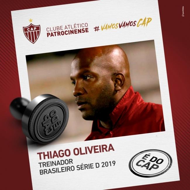 Thiago Oliveira é o novo treinador do CAP para...
